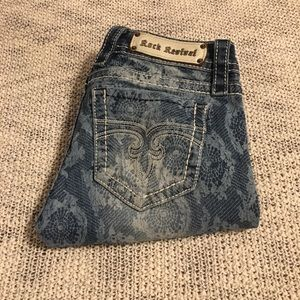 LYDIA CROP SKINNY ROCK REVIVALS